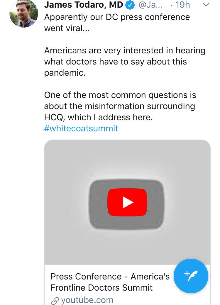 YouTube censorship: Missing video still on Twitter