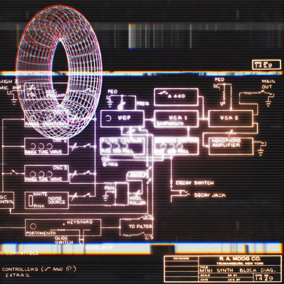 A schematic.